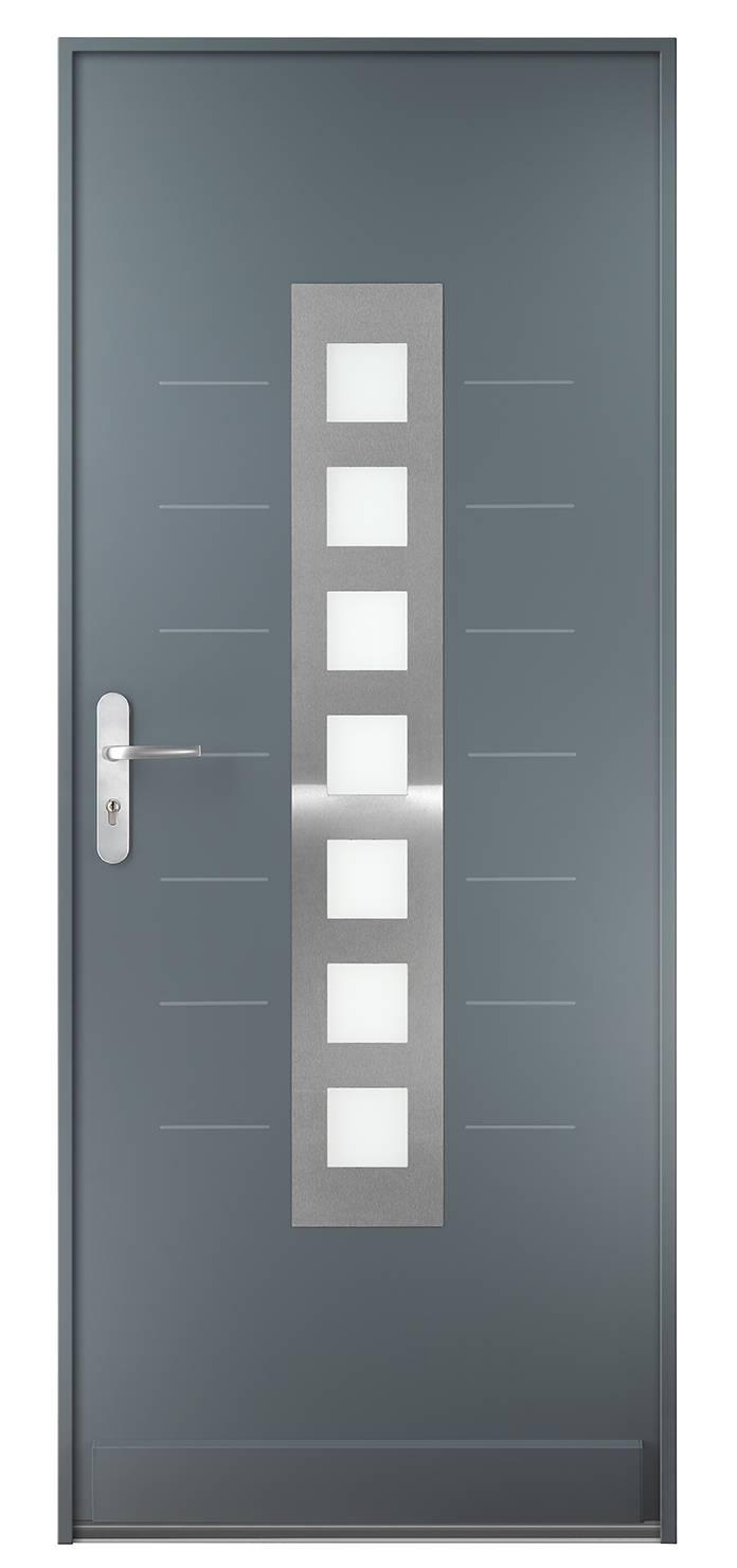 Pose d une porte blind e fichet design pour villa trets - Installer une porte blindee ...